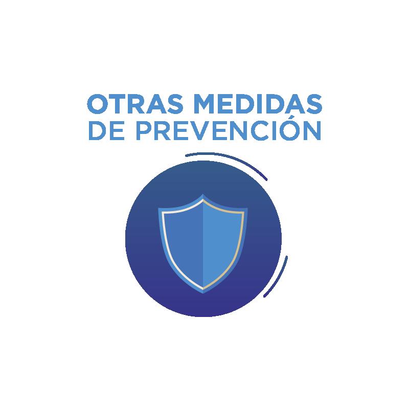 Otras medidas de prevención